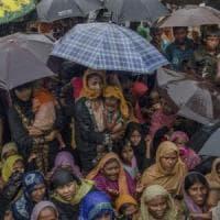 Rohingya, primo gruppo di rifugiati trasferito in nuovi rifugi di emergenza