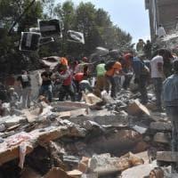Messico, terremoto di magnitudo 7.1. Vittime sotto le macerie dei palazzi