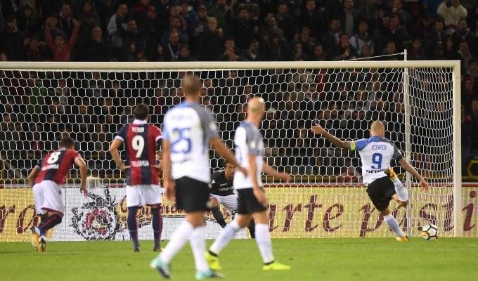 Frenata Inter: a Bologna finisce 1-1