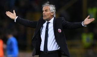 """Bologna, Donadoni: """"Dispiace per il pari, ci sentiamo derubati"""""""