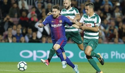 Messi: show, il Barça ne fa 6 all'Eibar  Zaza trascina il Valencia