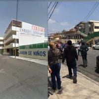 Terremoto in Messico, il sisma distrugge una scuola: l'edificio prima e dopo il crollo