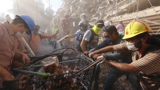 Terremoto Messico (19/09/2017)