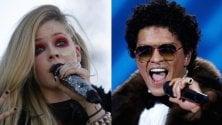 Avril Lavigne e Bruno Mars, le star più 'pericolose' del web