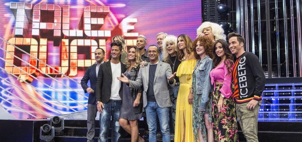 Torna 'Tale e quale': Claudio Lippi passa tra i concorrenti