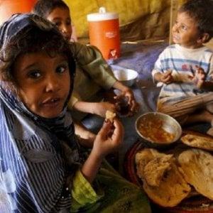 Yemen, assistenza alimentare record per 7 milioni di persone solo ad agosto