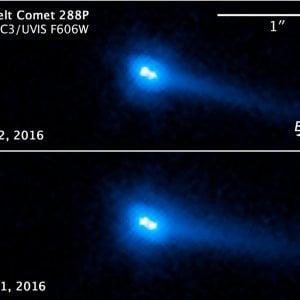 """Spazio, scoperta una """"doppia cometa"""" fatta da due asteroidi, oggetto mai visto nel Sistema solare"""