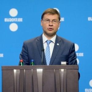 Il vicepresidente Use Valdis Dombrovskis