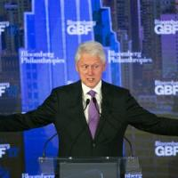 "Onu, Clinton contro il ""tribalismo separatista"" al Bloomberg Global Business Forum"