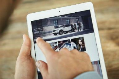 Guidare l'ultima Volvo? Facile come cambiare smartphone