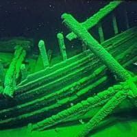 Scoperto un cimitero di navi nel Mar Nero.