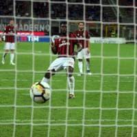 Milan, la cooperativa dei rigori. Montolivo salta la Sampdoria
