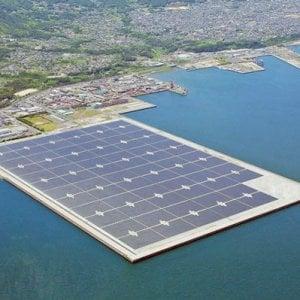 Rinnovabili, nelle grandi dighe arriva il fotovoltaico galleggiante