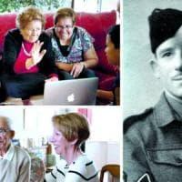 """La ragazza che salvò il soldato: """"Mi ha sorriso 74 anni dopo"""""""