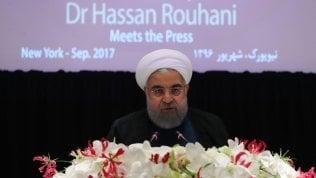 """Iran, Rouhani: """"Rafforzeremo forze militari e balistiche"""" – Repubblica.it"""