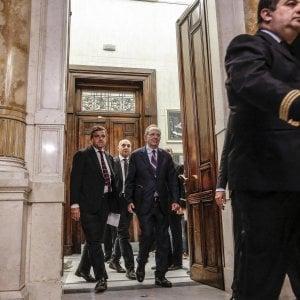 I ministri Calenda e Padoan