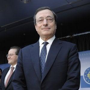 Draghi: I giovani vogliono lavoro non sussidi