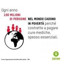 """Oxfam: """"Una persona su 3 nel Mondo non ha accesso a farmaci essenziali"""""""
