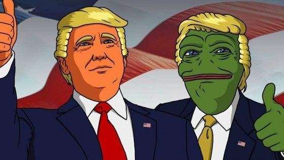 Usa: Pepe The Frog, il creatore della rana fa causa ai siti di destra