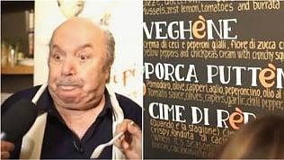 Orecchiette e sketch per i fan:Lino Banfi inaugura il suo locale