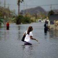 Uragano Maria, crolla diga a Porto Rico:  70 mila abitanti in fuga da due cittadine...