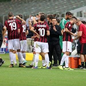 Milan cinese ma non troppo: nella Rossoneri Sport Investment ne resta uno solo