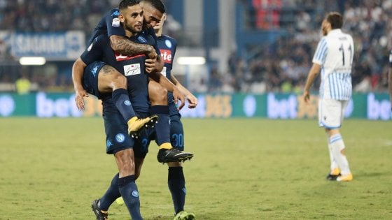 Spal-Napoli 2-3. Ghoulam regala agli azzurri un successo da record