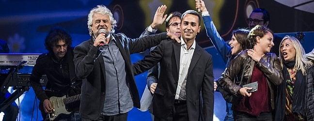 """Grillo: """"Di Maio candidato premier e leader"""".Ma votano solo in 37 mila. Video L'annuncio"""