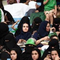 Arabia Saudita: per la prima volta donne autorizzate a entrare in uno stadio