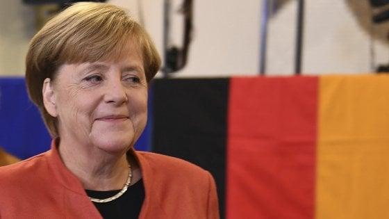 Germania, gli exit poll: Cdu primo partito, vola l'ultradestra dell'Afd