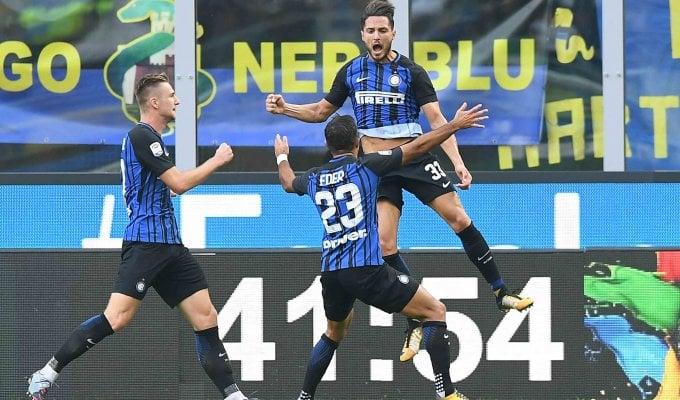 Inter, che fatica: nel finale decide D'Ambrosio