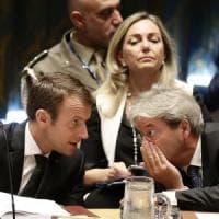 Faccia a faccia Macron-Gentiloni su Stx. Prove generali di web tax a Tallinn