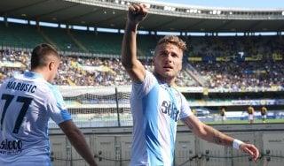 Le pagelle di Verona-Lazio: Pazzini troppo solo, Immobile imprendibile
