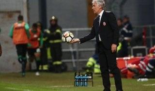 """Bologna, Donadoni: """"Godiamoci i tre punti, ma non abbiamo fatto ancora nulla"""""""