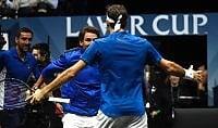 Ci pensa Federer, l'Europa  batte il Resto del mondo