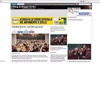 Hackerato il blog di Grillo. E R0gue_0 si
