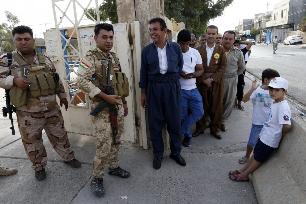Kurdistan iracheno, si vota per l'indipendenza: file ai seggi