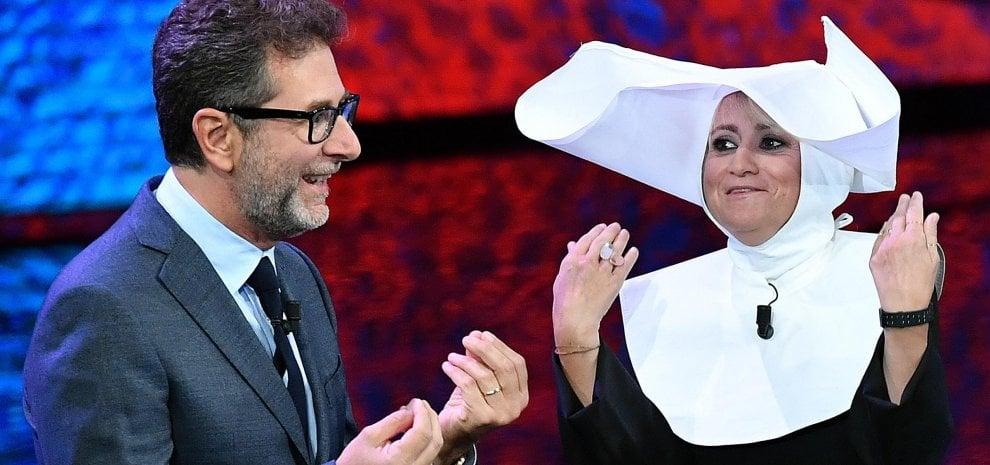 'Che tempo che fa', debutto-boom su RaiUno ma Gianni Morandi insegue. Claudio Baglioni firma per Sanremo