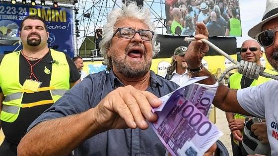 Grillo, gli insulti e la caccia al giornalista: il candidato premier è d'accordo con lui?