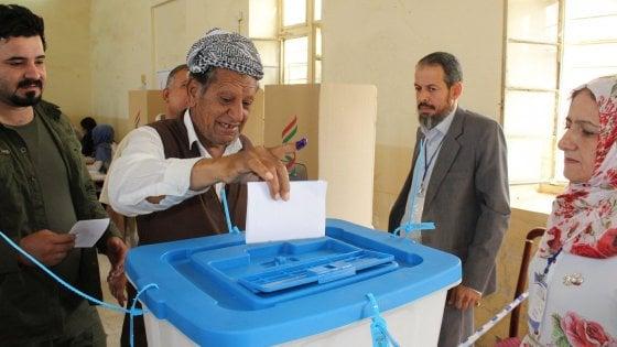 """Iraq, Kurdistan al voto per l'indipendenza. Erdogan: """"Esercito turco pronto a passi necessari"""""""