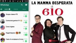 Lo sfogo della 'mamma disperata': audio Lillo&Greg virale su WApp