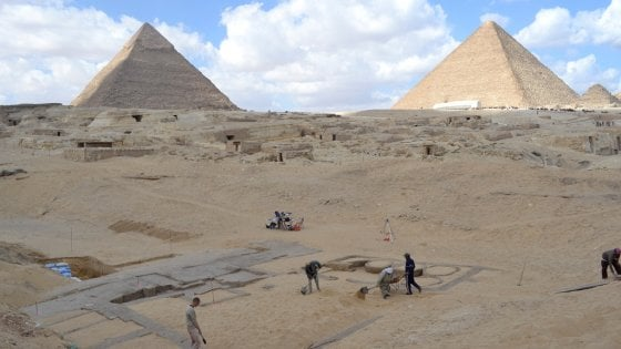 Piramide di Giza, svelato il mistero della costruzione