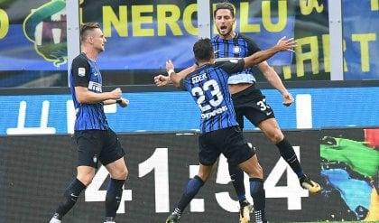 L'Inter non si ferma più:  in A è 'invincibile' da 8 gare
