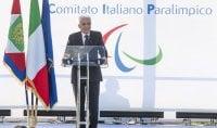 """Mattarella: 'Quello paralimpico  è il sogno di tutta Italia"""""""