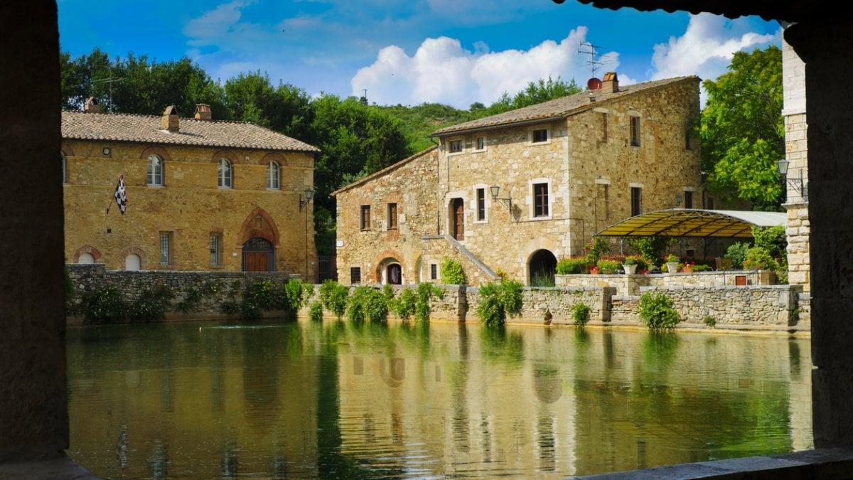 A bagno vignoni la stagione delle terme parte fra benessere natura storia e buona cucina - Hotel terme bagno vignoni ...