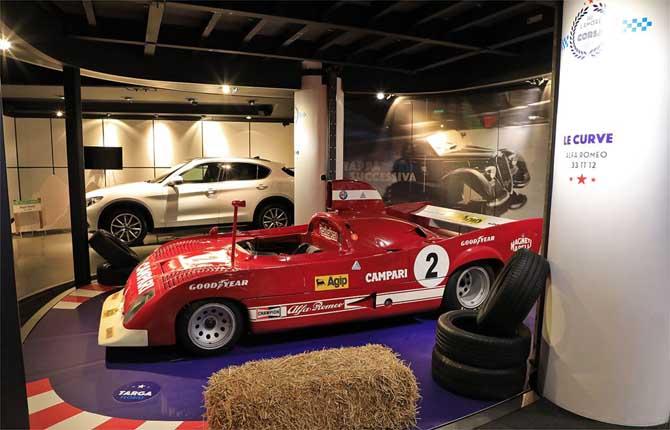 Mille Miglia e Targa Florio al MotorVillage Fca Rond-Point des Champs-Elysées