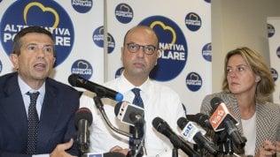 Lupi, Alfano e Lorenzin all'incontro con la stampa