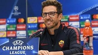 """Di Francesco avverte la Roma""""Non mi fido del Qarabag"""""""