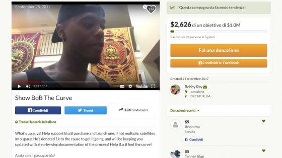 """B.o.b., l'appello del rapper cospirazionista: """"Un crowdfunding per provare che la Terra è piatta"""""""