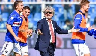 """Samp, Ferrero punge il Milan: """"Duecento milioni spesi, zero tiri contro i noi"""""""